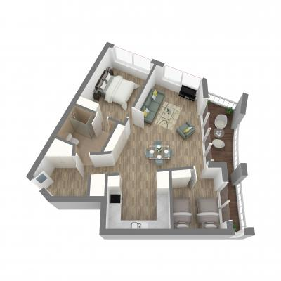 New Era 2 Bedroom Layout E